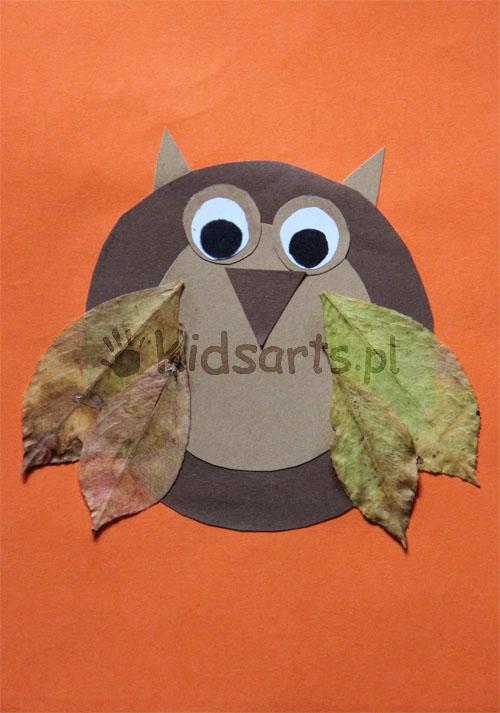 jesien prace plastyczne dla dzieci